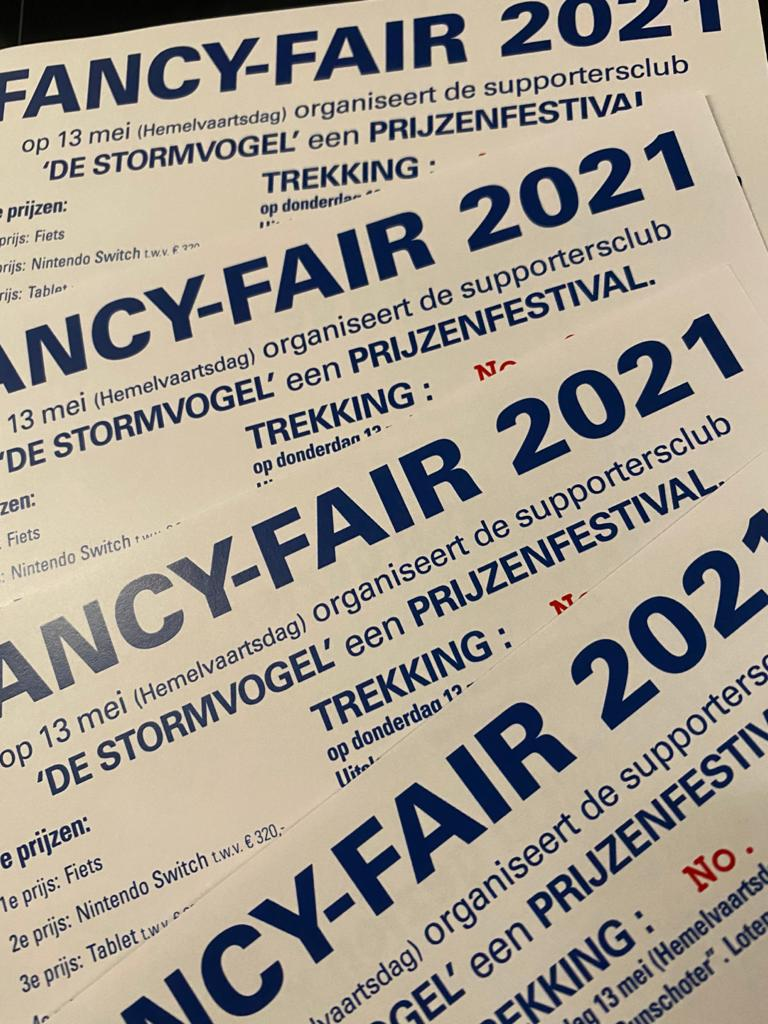 FANCY FAIR 2021 | Verkoop loten online