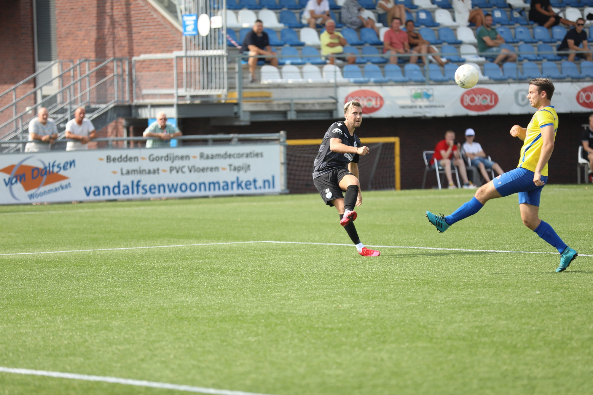 Roy Castien en SV Spakenburg uit elkaar
