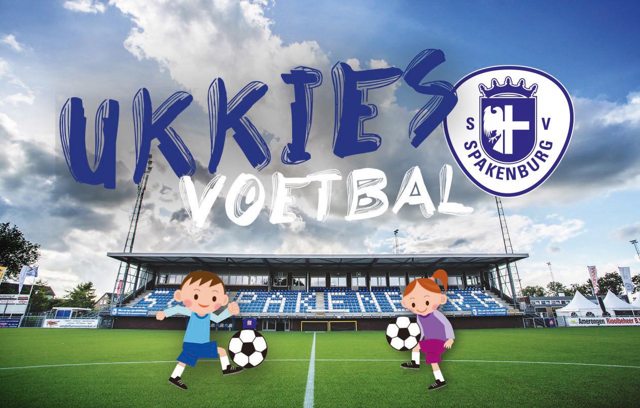 Ukkies voetbal bij Spakenburg!