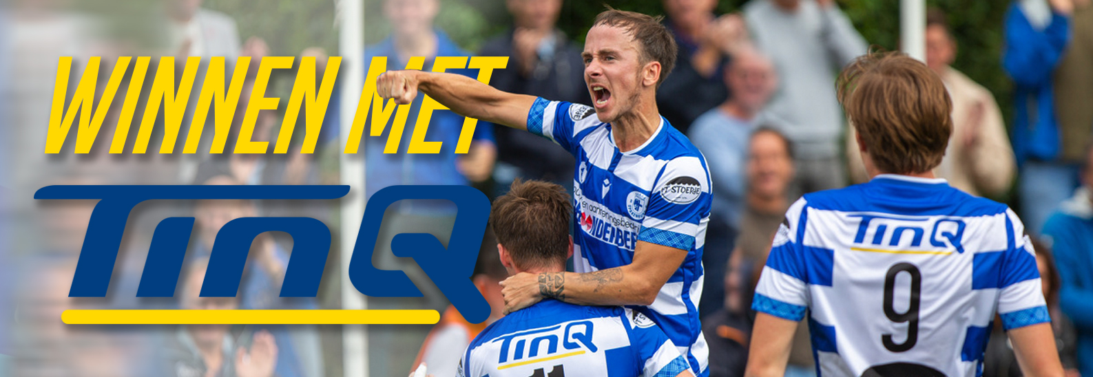 TinQ ook volgend seizoen shirtsponsor van SV Spakenburg