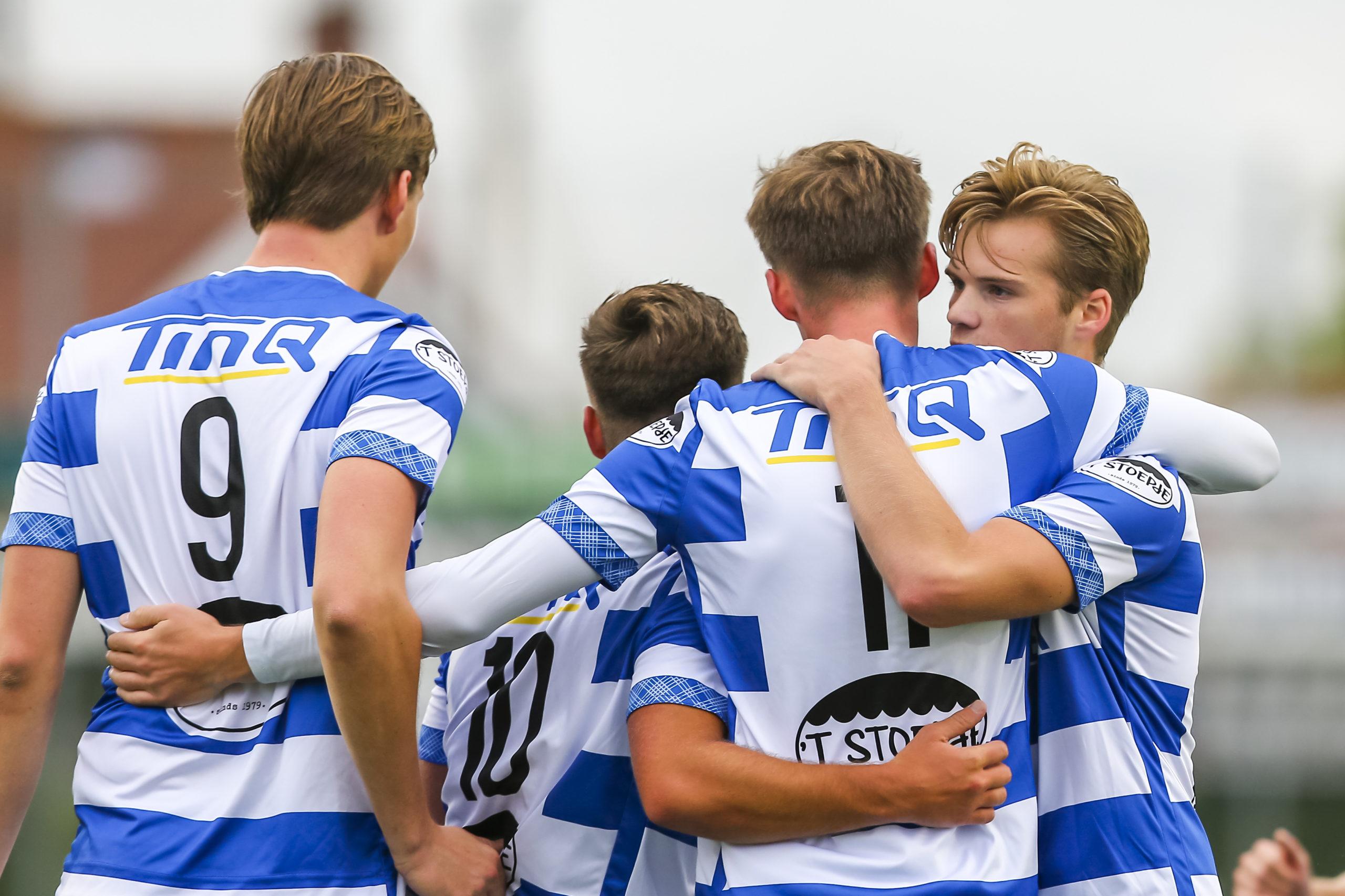 TinQ en 't Stoepje hoofdsponsors talentteam 0-23
